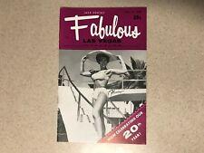 Fabulous Las Vegas Magazine Cira Maddux Sheila MacRae Jerry Vale 7/2/1966