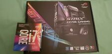 Intel 7700k Cpu and Asus Z270e Strix Motherboard