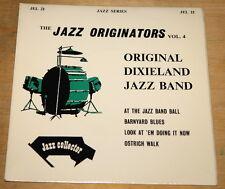 "ORIGINAL DIXIELAND JAZZ BAND ~ BLUES 7"" EP UK JAZZ COLLECTOR SERIES  JEL 22"
