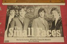"""THE SMALL FACES """"Sha-La-La-La-Lee"""" EP 1976 Original Melody Maker ADVERT/POSTER"""