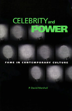Celebrity and Power: Fame in Contemporary Culture by P. David Marshall (Hardback, 1997)