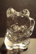 Genuine Handmade  Spun Glass ~Lucky Cat~Figure~Ornament~Animal~Boxed~uk seller