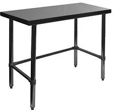 Ace 30 x 48 Open Base Stainless Steel Work Table Etl Wt-P3048B