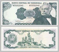 Venezuela 20 Bolivares 1992 p63d unc.