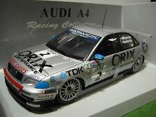 AUDI A4 Circuit # 2 de 1998 Orix gris 1/18 UT Models 39872 voiture miniature DTM