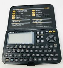 Casio 32KB Digital Diary SF-4300B In Working Condition.