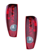 Tail Light Assemblies - Left & Right Side - Fits 04-09 Chevrolet & GMC Canyon