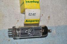 VACUUM TUBE: EZ81/6CA4 NEW NIB AMPEREX BUGLE BOY 9-pin-miniature FULL-WAVE RECTI