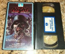 Hell of the Living Dead (VHS) Night of the Zombies