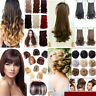 100% Real Thick New Clip In Hair Extension Pony Tail Claw Around Ponytail