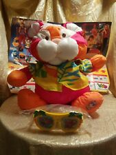 Vtg 1987 Fisher Price Wild Puffalump Tiger Plush Stuffed Animal BRAND NEW w/ Box