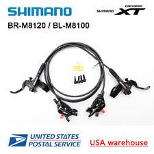 Nuevo Shimano XT BL-M8100 BR-M8120 4 Pistons Disco Ice Tech Set de Frenos F&r OE