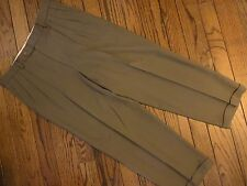 Men's Monsieur by Givenchy Brown Pleated Dress Pants       Size 36R