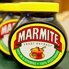Marmite Large Yeast Extract Spread 100% Vegetarian Energy Multi-Vitamin Variety