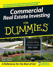 NEW Commercial Real Estate Investing For Dummies by Peter Conti