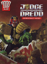 """2000AD ft JUDGE DREDD in """" DEMOCRACY NOW """" - GRAPHIC NOVEL - EXCELLENT CONDITION"""
