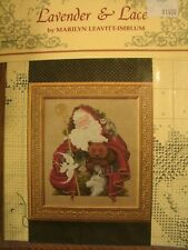 """Complete XStitch Materials """"SANTA OF THE FOREST""""  by Lavender and Lace"""