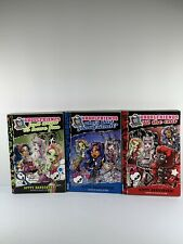 Lot Of 3 Monster High Dolls Ghoulfriends Books