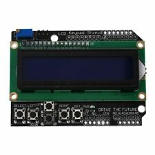 LCD Teclado Shield Para Arduino Uno Mega R3 Mega 2560 Duemilanove Nano Robot P E7X4