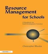 Resource Management for Schools: A Handbook of Staff Development Activities by