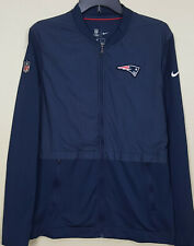 NIKE NEW ENGLAND PATRIOTS ON FIELD APPAREL JACKET TEAM ISSUED RARE (SIZE MEDIUM)
