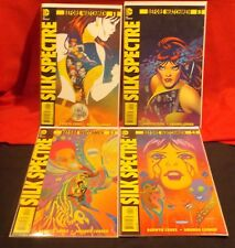 SILK SPECTRE BEFORE WATCHMEN COMPLETE MINI SERIES # 1-4 2012 DC DARWYN COOKE