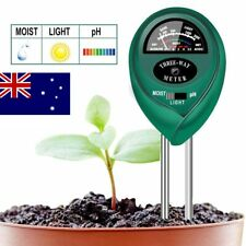 3 in1 Soil Tester Water PH Moisture Light Test Meter Kit For Garden Plant Flower