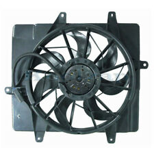 01-05 PT Cruiser Non-Turbo Radiator & A/C Condenser Cooling Fan Motor Assembly