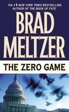 Brad Meltzer / Zero Game 2005 Suspense & Thrillers Mass Market