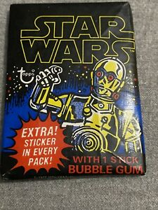 (1) 1977 Topps Star Wars Series 1 Wax Pack