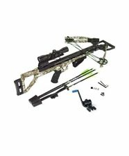 New Carbon Express Covert Tyrant 4x32 Crossbow Package W/ Crank Device 20296