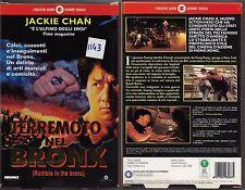 TERREMOTO NEL BRONX (1996) vhs ex noleggio