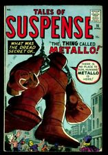 Marvel Comics TALES Of SUSPENSE #16 The Thing Called Metallo VG+ 4.5