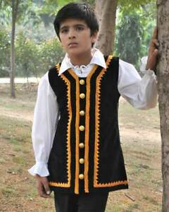 Kids Captain Captain Jack Vest, finest fabric, handmade one by one, very nice!!