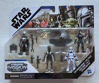 NEW Star Wars Mission Fleet The Mandalorian Child Cara Dune IG-11 Stormtrooper