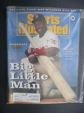 Sports Illustrated April 6, 1992 Kirby Puckett Twins MLB NCAA Michigan Apr '92 B