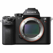 Sony Alpha A7R II Mark II 42MP 4K Full Frame PAL/ NTSC Digital Camera Brand New