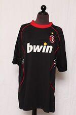 "Gool Mens AC Milan Bwin Road Jersey Unitalla One Size Fits All ""Quispe"" #4 Black"