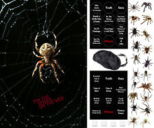 Halloween Party Game - Pin The Spider On The Web - Includes a Family Friendly Ve