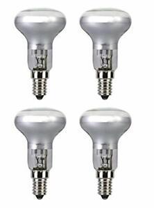 R50 Spotlight Bulbs Halogen 30w (=40w) Watt SES E14 Reflector Spot Light x 4