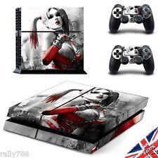 Harley Quinn suicid escuadrón PS4 Playstation 4 Pegatina de piel Envoltorio controlador de consola