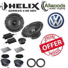 """HELIX F 62C 6.5"""" 16.5cm 2 way component car speakers for VW Tiguan"""