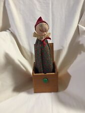 """VINTAGE 1985 JACK IN THE BOX HANDMADE BY JAX OF MAINE """"WITCH"""""""