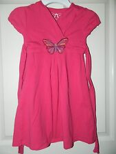 CHILDRENS PLACE girls Pink BUTTERFLY Tie Back DRESS* 5
