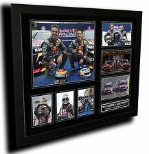 CRAIG LOWNDES & JAMIE WHINCUP SIGNED LIMITED EDITION FRAMED MEMORABILIA