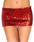 Sequined Mini Skirt - Music Legs 155