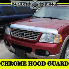 2002 2003 04 2005 Ford Explorer Chrome BugShield Deflector Hood Guard Protector