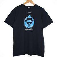 Breaking Bad Walter Beaker Mens Black T-Shirt Size Large AMX