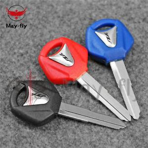 Blank Key Uncut Fit For Yamaha YZF R1 R6 FZ1 FZ6 XJR1300 MT01/03 Tmax