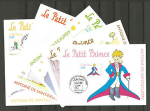 FRANCE 1998 - Le Petit Prince - Saint Exupery - 5 Postcards - Used First Day